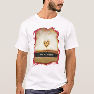 Fun modern art heart painting customize your own T-Shirt