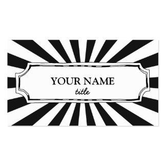 Fun & Modern Business Card Business Card Template