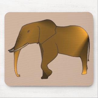 Fun Modern Trendy Elephant Mousepads
