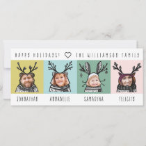 Fun & Modern Woodland Animal Characters Family