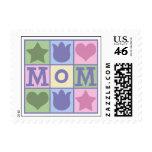 Fun Mom Quilt Squares Postage