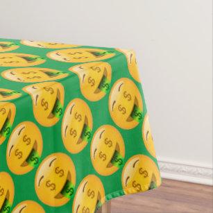 Fun Money Emoji Tablecloth