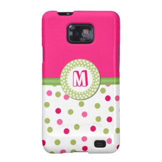 Fun Monogram Samsung Galaxy Phone Case Galaxy SII Case