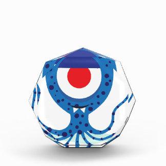 Fun Monster Squid Design Acrylic Award