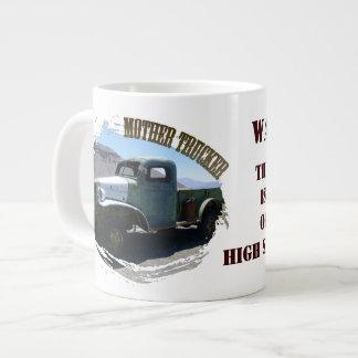 Fun Mother Trucker Jumbo Mug! Large Coffee Mug