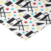 Fun Movie party pattern tissue Tissue Paper