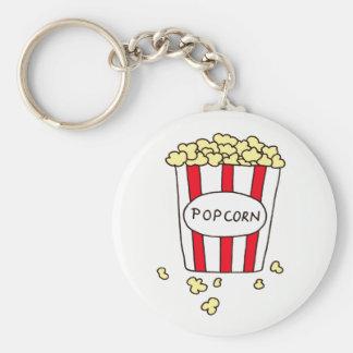 Fun Movie Theater Popcorn in Bucket Favors Keychain