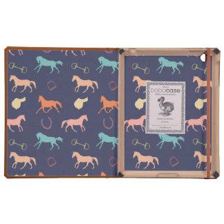 Fun Multicolor English Horse Pattern