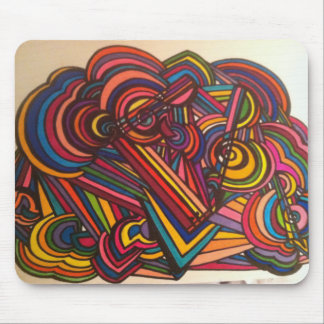 Fun music design for this mouse pad!! mouse pad