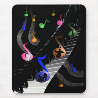 Fun Musica Mousepad for music Lovers
