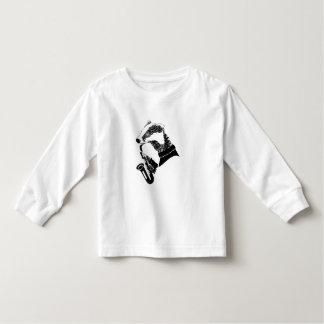 Fun Musician Badger Saxophone Customizable Shirt