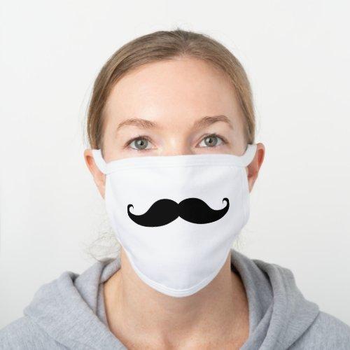 Fun Mustache Decorative Cotton Face Mask
