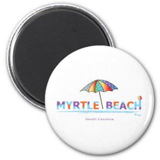Fun Myrtle Beach, SC 2 Inch Round Magnet
