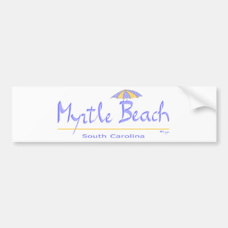 Fun Myrtle Beach, SC Bumper Sticker