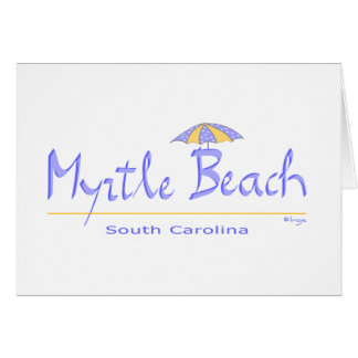 Fun Myrtle Beach, SC Card