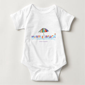 Fun Myrtle Beach, SC Jersey Body Suit Baby Bodysuit