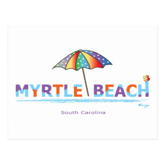 Fun Myrtle Beach, SC Postcard