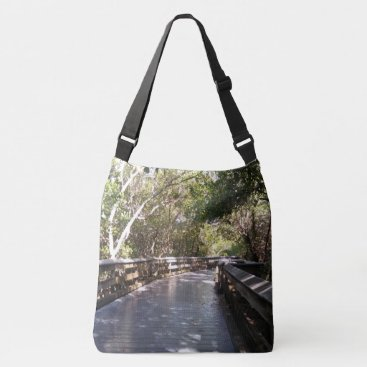 Fun Nature Walk Path Picture Naples, FL Crossbody Bag