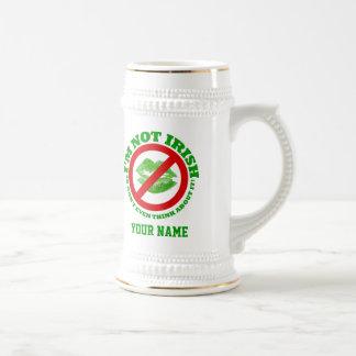 Fun no kissing  St Patrick's day Coffee Mug