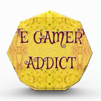 Fun Novel Yellow 'E Gamer Addict Award
