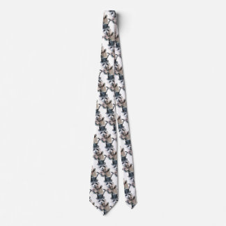 Fun Novelty Elegantly Dressed Formal Raccoon Humor Neck Tie