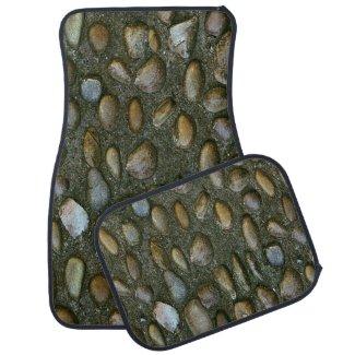 Fun Novelty Stone Car Mat
