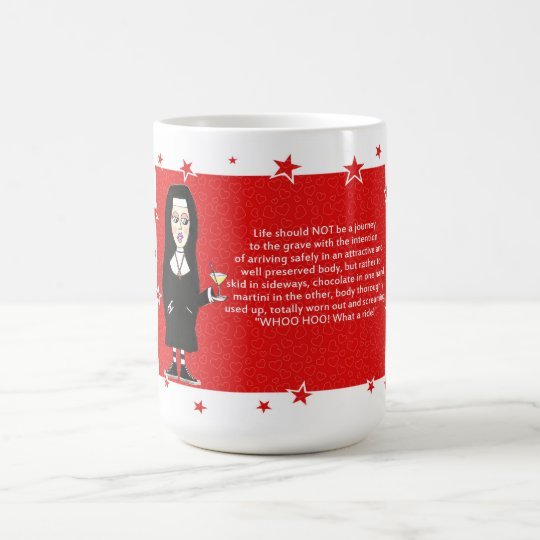 Fun Nun Coffee Mug