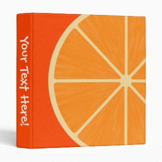 Fun Orange Slice Binder