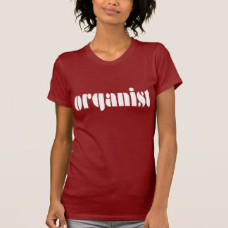 Fun Organist Womens T-shirt