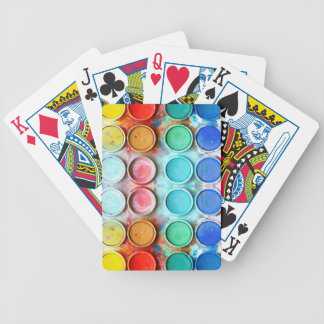 Fun paint color box bicycle playing cards