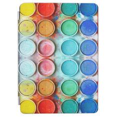 Fun paint color box iPad air cover at Zazzle