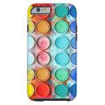 Fun paint color box iPhone 6 case