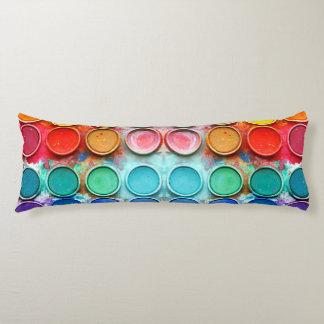 Fun paint color box body pillow