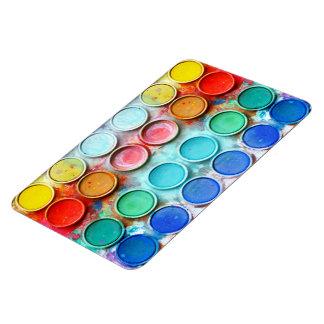 Fun paint color box flexible magnets
