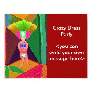 Fun Party Presentation Card