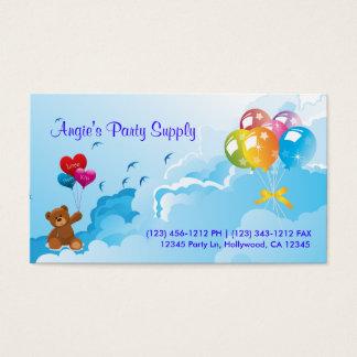 Fun Party Supplies Business Card