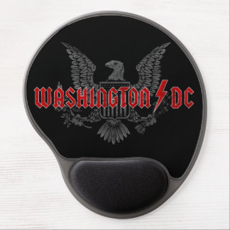 Fun patriotic heavy metal parody: Washington DC… Gel Mouse Pad