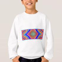 fun pattern colorfull sweatshirt