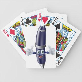 Fun pen man poker cards