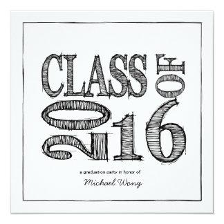 Fun Pen Sketch Class of 2016 Announcement