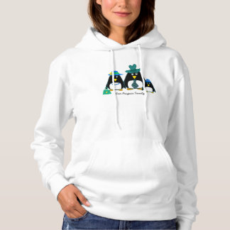 Fun Penguin Family Custom Christmas Hoodie