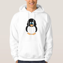 Fun Penguin Hoodie Shirt