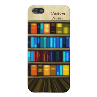 Fun Personal Bookcase Case For iPhone5C