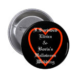 Fun Personalized Halloween Wedding Favors Button