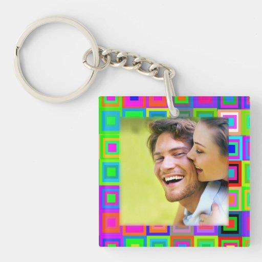 Fun Photo Keepsake Acrylic Keychains