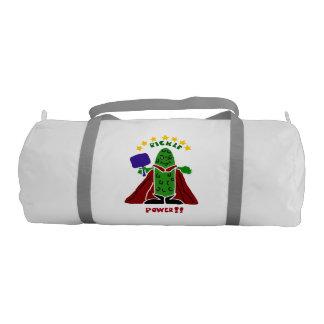 Fun Pickleball Pickle Super Hero Gym Bag