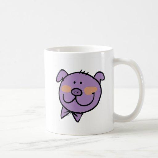 Fun pig mug