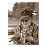Fun Pigeons Roost Man Retirement Party Invitation