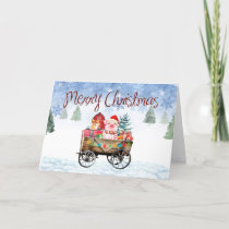 Fun Piglet Christmas Card