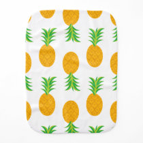 Fun Pineapple Pattern Burp Cloth